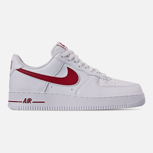 new product 797bb 4afec Right view of Men s Nike Air Force 1  07 3 Casual Shoes in White