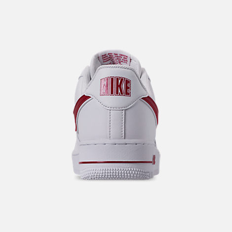 best cheap ad602 7504b Back view of Mens Nike Air Force 1 07 3 Casual Shoes in White