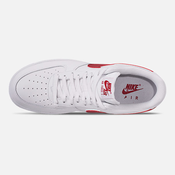 ef0fdfc05328 Top view of Men s Nike Air Force 1  07 3 Casual Shoes in White