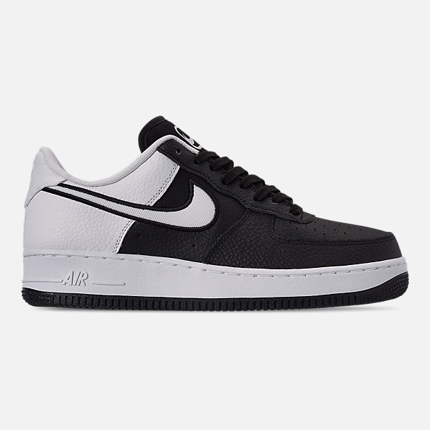 5e4101e5f Right view of Men s Nike Air Force 1  07 LV8 1 Casual Shoes in Black