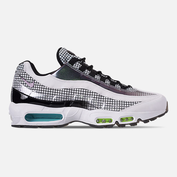 Right view of Men s Nike Air Max 95 LV8 Casual Shoes in Black Ember Glow c5ac859f3