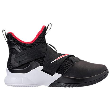 sale retailer 14c7d ba85c Men'S Lebron Soldier 12 Basketball Shoes, Black