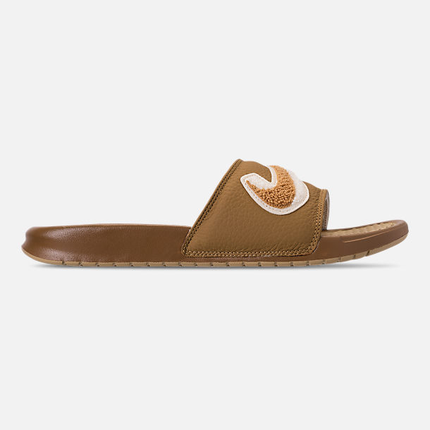 Right view of Men's Nike Benassi JDI Chenille Slide Sandals