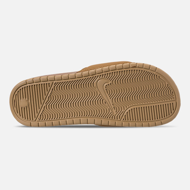 Bottom view of Men's Nike Benassi JDI Chenille Slide Sandals