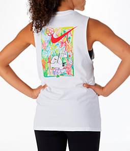 Women's Nike Dry Shanghai Running Muscle Tank