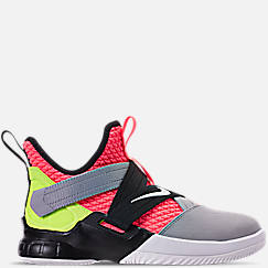 Boys' Big Kids' Nike LeBron Soldier 12 SFG Basketball Shoes