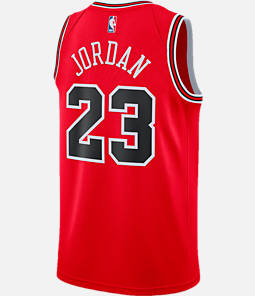 Men's Nike Chicago Bulls NBA Michael Jordan Icon Edition Connected Jersey