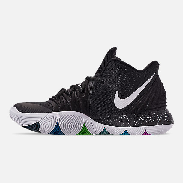Left view of Men's Nike Kyrie 5 Basketball Shoes in Multi-Color/White