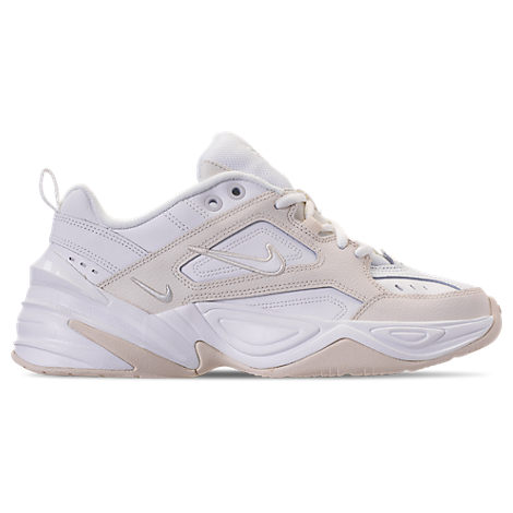 45685a258 Nike M2K Tekno Leather And Neoprene Sneakers In White