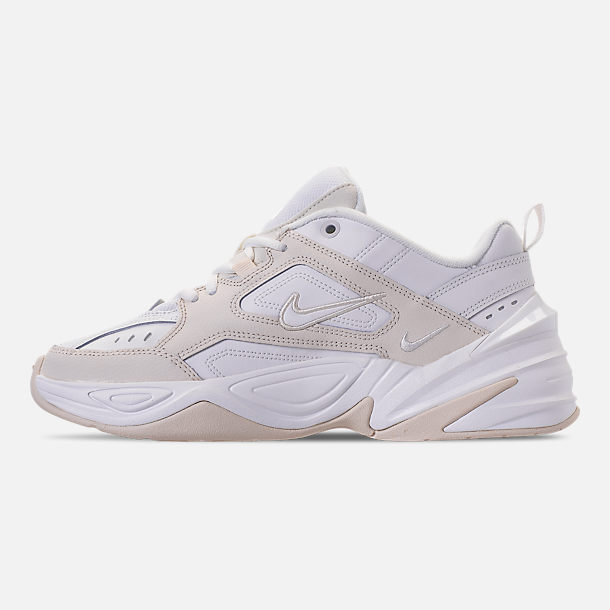 Left view of Women's Nike M2K Tekno Casual Shoes in Phantom/Summit White