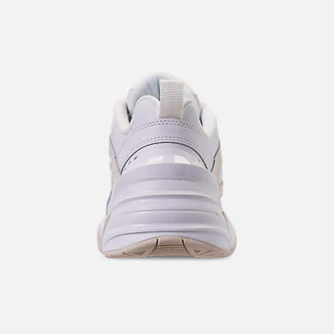Back view of Women's Nike M2K Tekno Casual Shoes in Phantom/Summit White