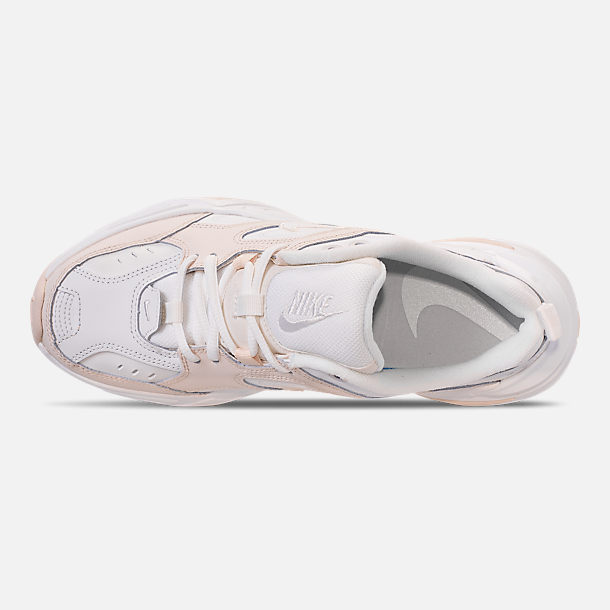 Top view of Women's Nike M2K Tekno Casual Shoes in Phantom/Summit White