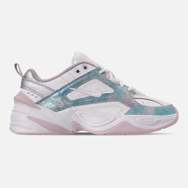 Right view of Women's Nike M2K Tekno Casual Shoes in Summit White/Icey Blue/Barely Rose