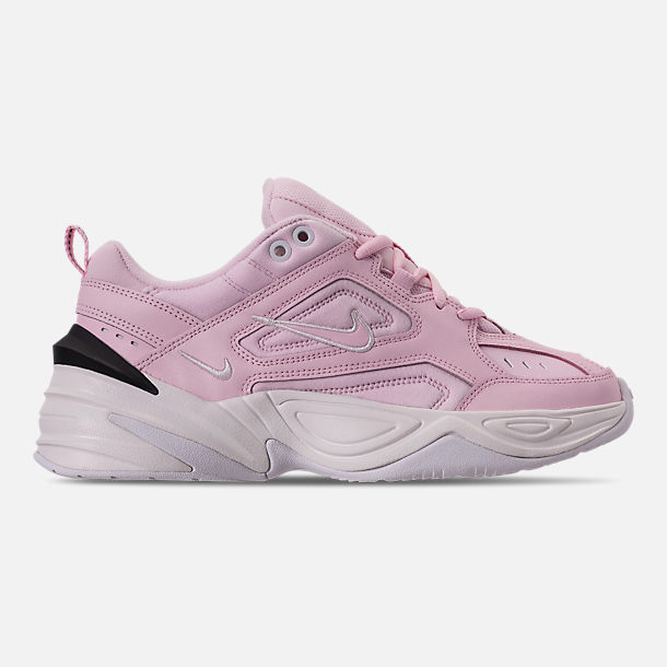 half off c07ba af2b5 Right view of Women s Nike M2K Tekno Casual Shoes in Pink Foam Black  Phantom