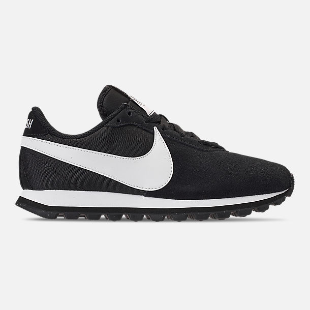 Right view of Women's Nike Pre-Love O.X. Casual Shoes in Black/Summit White