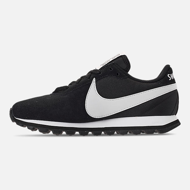 Left view of Women's Nike Pre-Love O.X. Casual Shoes in Black/Summit White