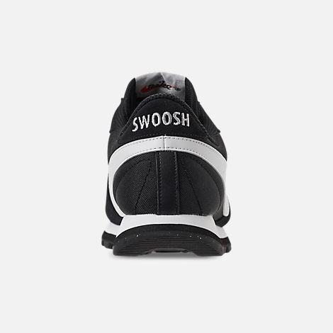 Back view of Women's Nike Pre-Love O.X. Casual Shoes in Black/Summit White