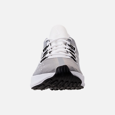 Front view of Women's Nike EXP-X14 Running Shoes in White/Wolf Grey/Black
