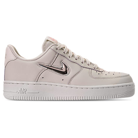 Women'S Air Force 1 '07 Premium Lx Casual Shoes, White, Phantom/ Gold Star/ White