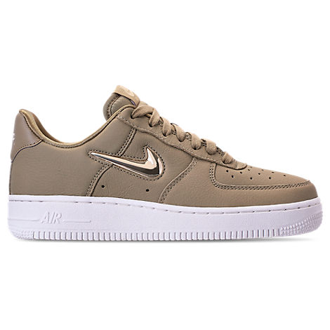 release info on c1bcc 0c70d Nike Air Force 1  07 Prm Lx Sneaker In Neutral Olive  Gold  Bronze