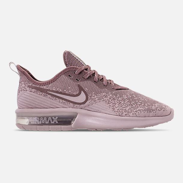 Right view of Women's Nike Air Max Sequent 4 Casual Shoes in Particle Rose/Particle Rose/Smokey Mauve