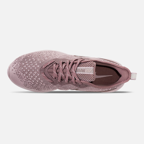 Top view of Women's Nike Air Max Sequent 4 Casual Shoes in Particle Rose/Particle Rose/Smokey Mauve