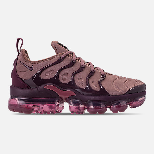 632a8148a7c27 ... promo code for right view of womens nike air vapormax plus casual shoes  in smokey mauve