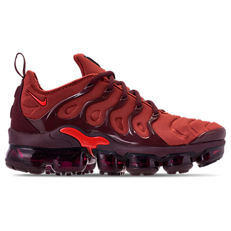 Women'S Air Vapormax Plus Casual Shoes, Orange, Burnt Orange/ Red-Burgundy