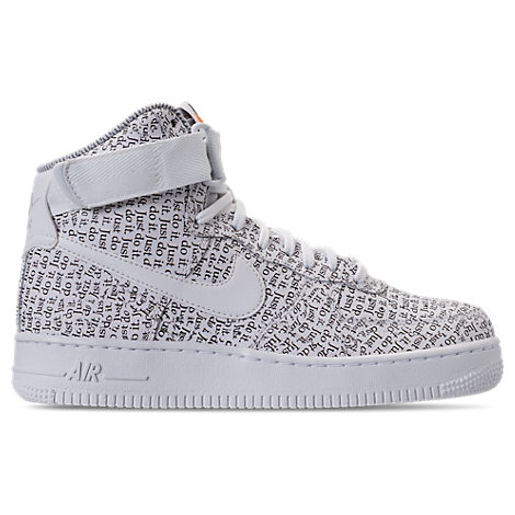 WOMEN'S AIR FORCE 1 HIGH LX CASUAL SHOES, WHITE