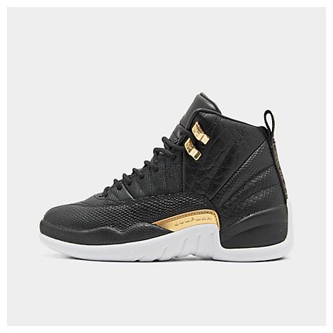 brand new 5515d f3028 Jordan Women's Air Jordan Retro 12 Basketball Shoes, Black - Size 9.0