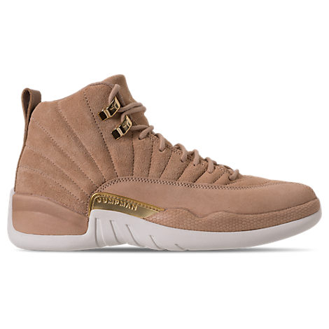 WOMEN'S AIR JORDAN RETRO 12 BASKETBALL SHOES, BROWN