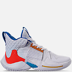 Boys  Big Kids  Air Jordan Why Not Zer0.2 Basketball Shoes ed87b4b79