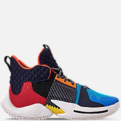 Boys' Big Kids' Air Jordan Why Not Zer0.2 Basketball Shoes