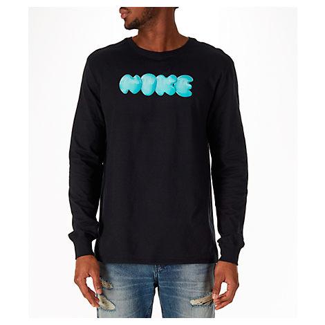 finest selection 7353e 793c1 ... Nike Men S Sportswear Air Max 270 Wildcard Long-Sleeve T-Shirt, Black  ...