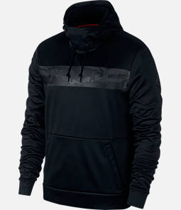 Men's Jordan Therma 23 Alpha Printed Training Pullover Hoodie