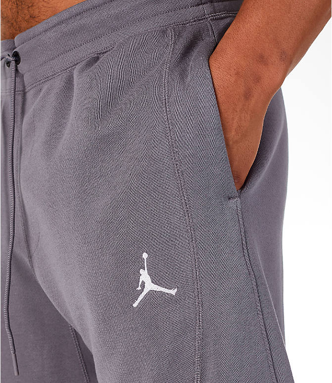 Detail 2 view of Men's Jordan Sportswear AJ11 Wings Shorts in Gunsmoke/White
