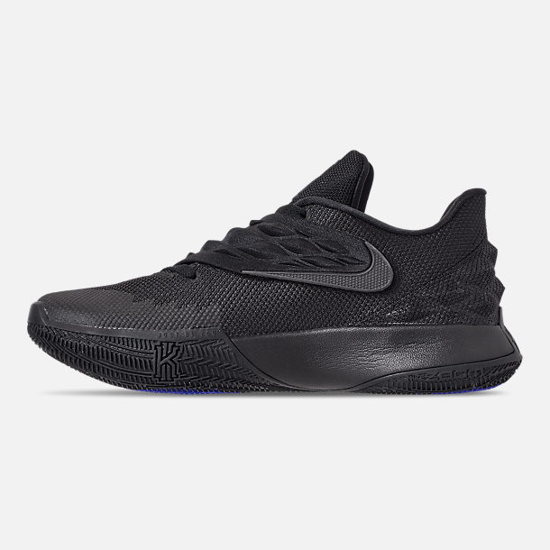 Left view of Men's Nike Kyrie Low Basketball Shoes in Black/Anthracite
