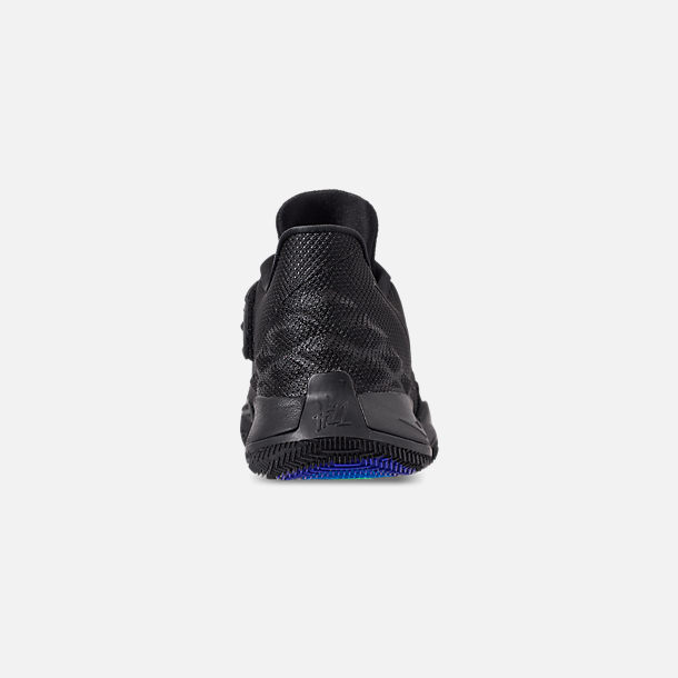 Back view of Men's Nike Kyrie Low Basketball Shoes in Black/Anthracite