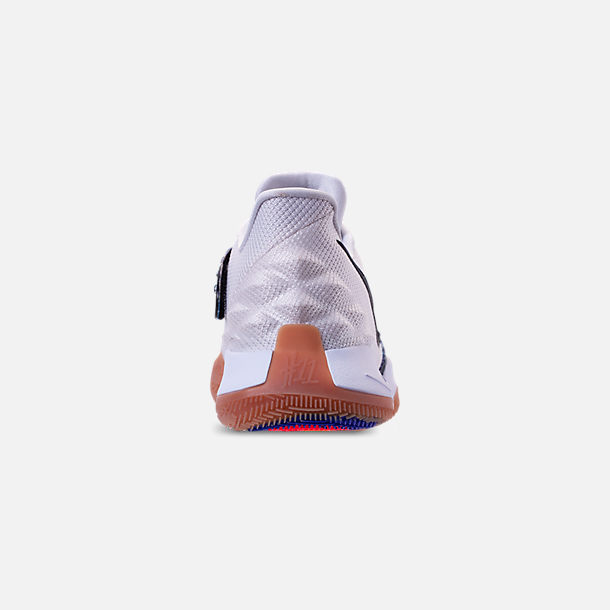 bff368e5a3d Back view of Men s Nike Kyrie Low Basketball Shoes in White Black Gum