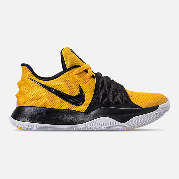Right view of Men's Nike Kyrie Low Basketball Shoes in Amarillo/Black