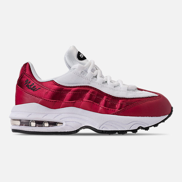 Right view of Girls' Little Kids' Nike Air Max 95 SE Casual Shoes