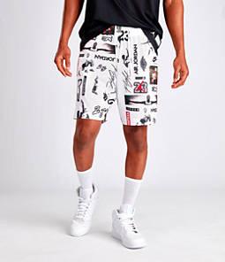 Men's Jordan Jumpman Graphic Mesh Shorts