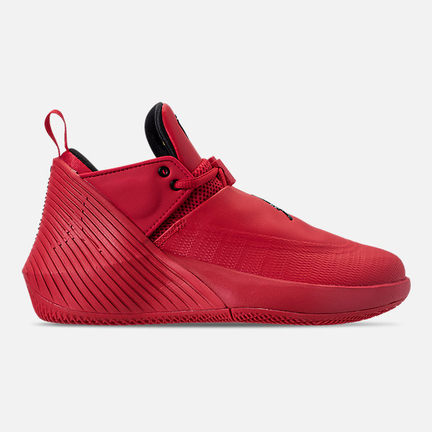 Right view of Big Kids' Air Jordan Why Not Zer0.1 Low Basketball Shoes in University Red/Black