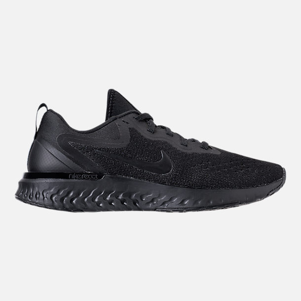 Right view of Women s Nike Odyssey React Running Shoes in Black Black Black ff77be5216
