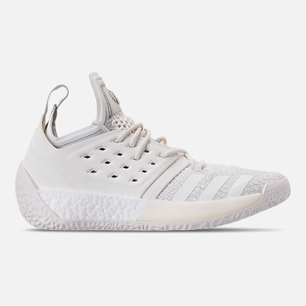 d6d4dd9c683150 Right view of Men s adidas Harden Vol.2 Basketball Shoes in Grey Cloud White