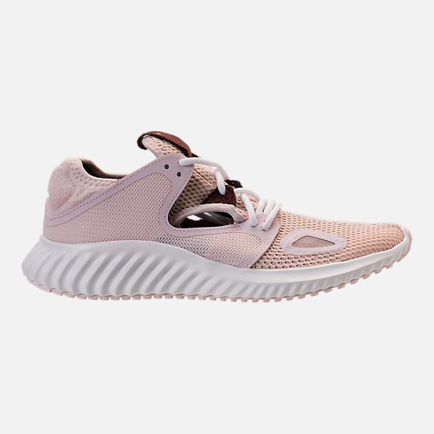 Right view of Women's adidas Run Lux Clima Running Shoes in Orchid Tint/White/Night Red