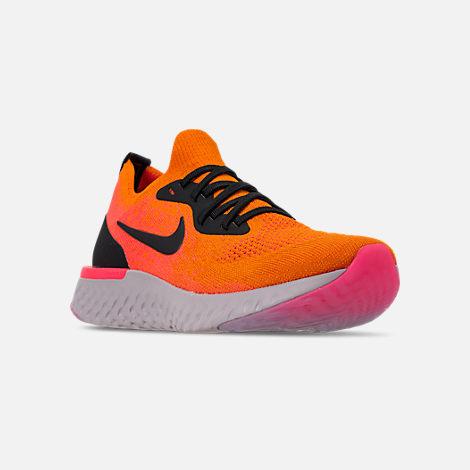 Nike Wmns Epic React Flyknit Copper Flash Orange Women Running Shoes AQ0070-800
