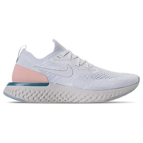 Women'S Epic React Flyknit Running Shoes, White