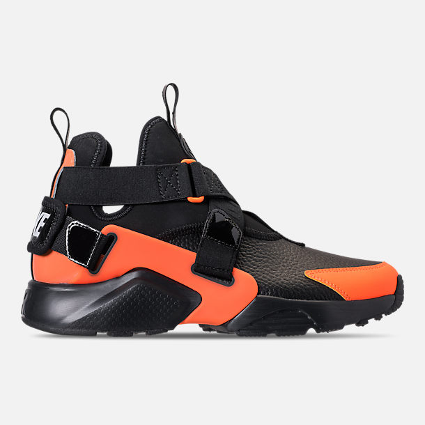 new arrival 2e8bb 83a6b Right view of Women s Nike Air Huarache City Utility Casual Shoes in Black  Black