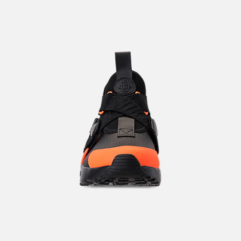 competitive price 49059 e0393 Front view of Women s Nike Air Huarache City Utility Casual Shoes in  Black Black